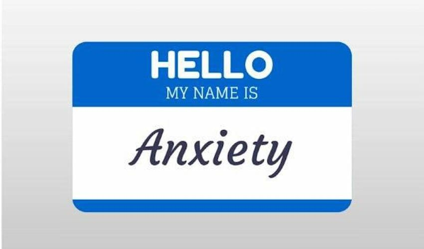 Are you suffering from anxiety?